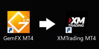GemForexからXMへ