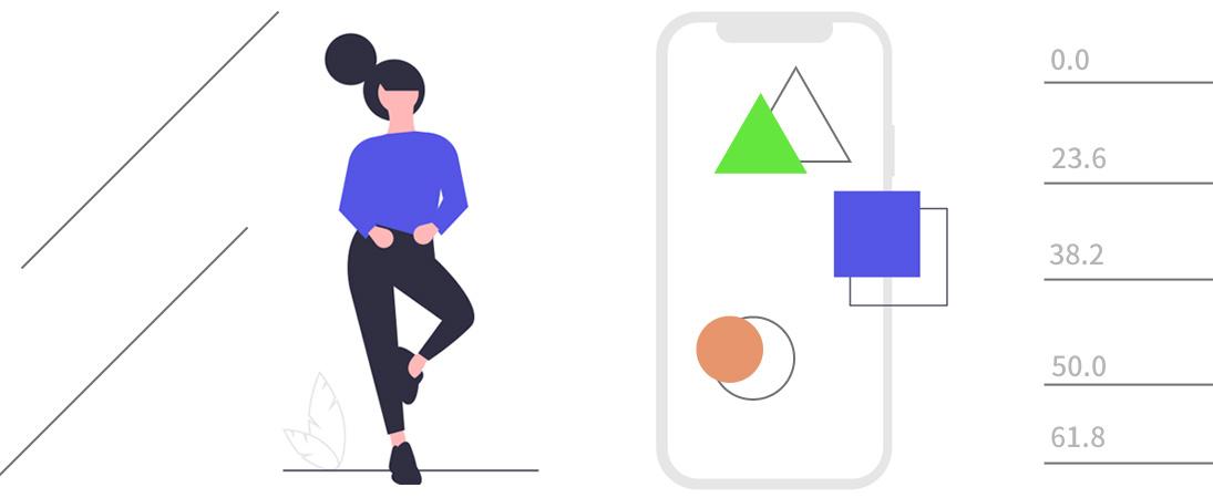 MT4スマホアプリで水平線やトレンドライン、フィボナッチを表示する方法